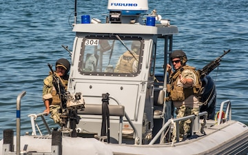 Coastal Riverine Squadron 1 conduct Harbor Security