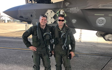 158th FW Pilots Reunite for F-35 Lessons in Florida