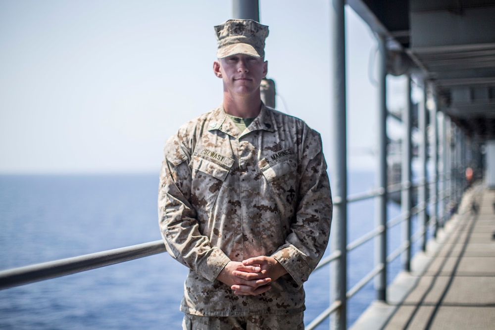 Resilient, reliable, ready: 11th MEU enlisted leaders test their limits, refuse to drop pack