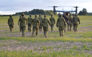 U.S., Estonian Special Operation Forces enhance readiness through air operations
