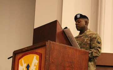 55th Quartermaster Company Activation Ceremony