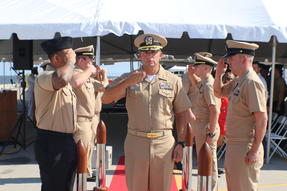 Future USS Cincinnati Change of Command