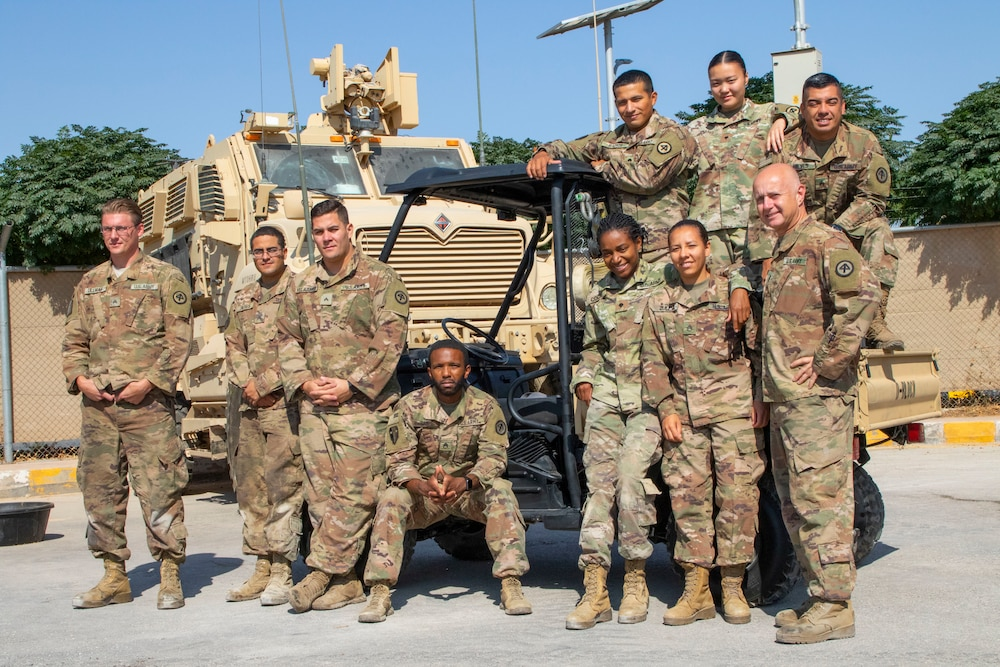 Soldiers give vehicle second life