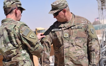 Indiana Guardsman commands post in Jordan