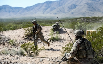 Regulars Battalion master's the fundamentals during squad live-fire exercise