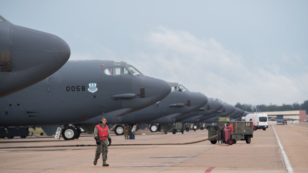 Global Thunder 20 is an Annual U.S. Strategic Command Exercise