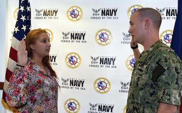 McAllen, Texas Native joins America's Navy to Defend Nation