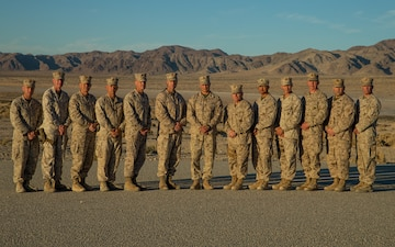 2d MARDIV Commanding Staff Group Photo