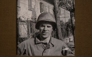 Cpt. Bill Cline in Italy