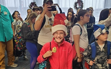 Snowball Express Sends Gold Star Children to Disney World