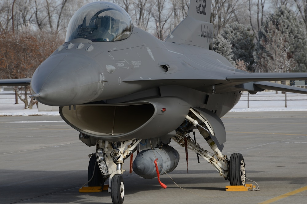 New grey paint TX F-16