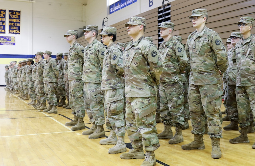 Pa. National Guard's 213th Regional Support Group holds change of command ceremony