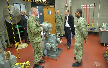 Department of Defense Principal Deputy Inspector General Tours SWESC and CSCSU