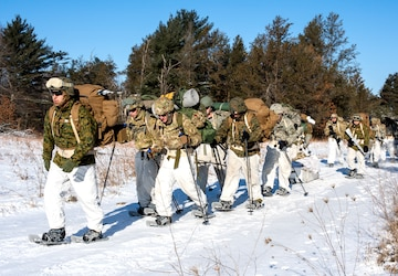 Cold Weather Training December 2019, USAG Fort McCoy