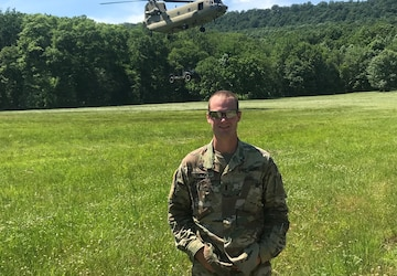 Pa. Guard chaplain taking running career to new heights