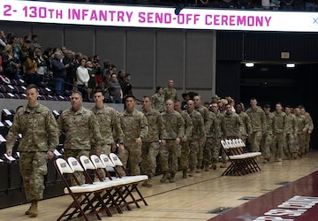 2-130th Infantry Regiment Prepares to Deploy to US CENTCOM Area of Responsibility