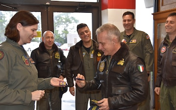 Italian Air Boss Visits NAS Whiting Field
