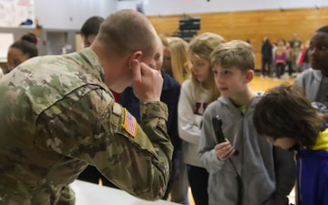 Middle school students expand knowledge about the Army
