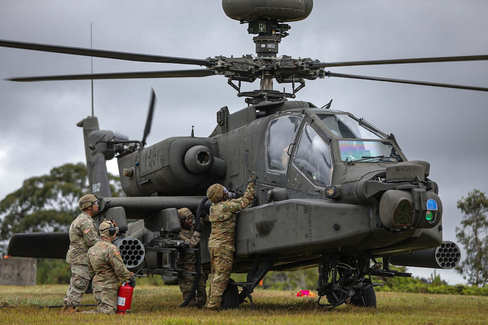 """Aviation Brigade practices """"Fat Cow"""" fueling operation"""
