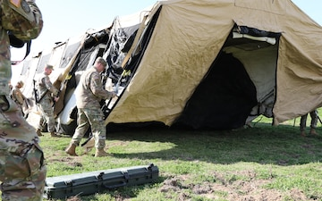 Reserve Engineers train for mobile operations