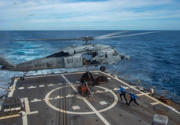 Williams Conducts Operations in the Atlantic
