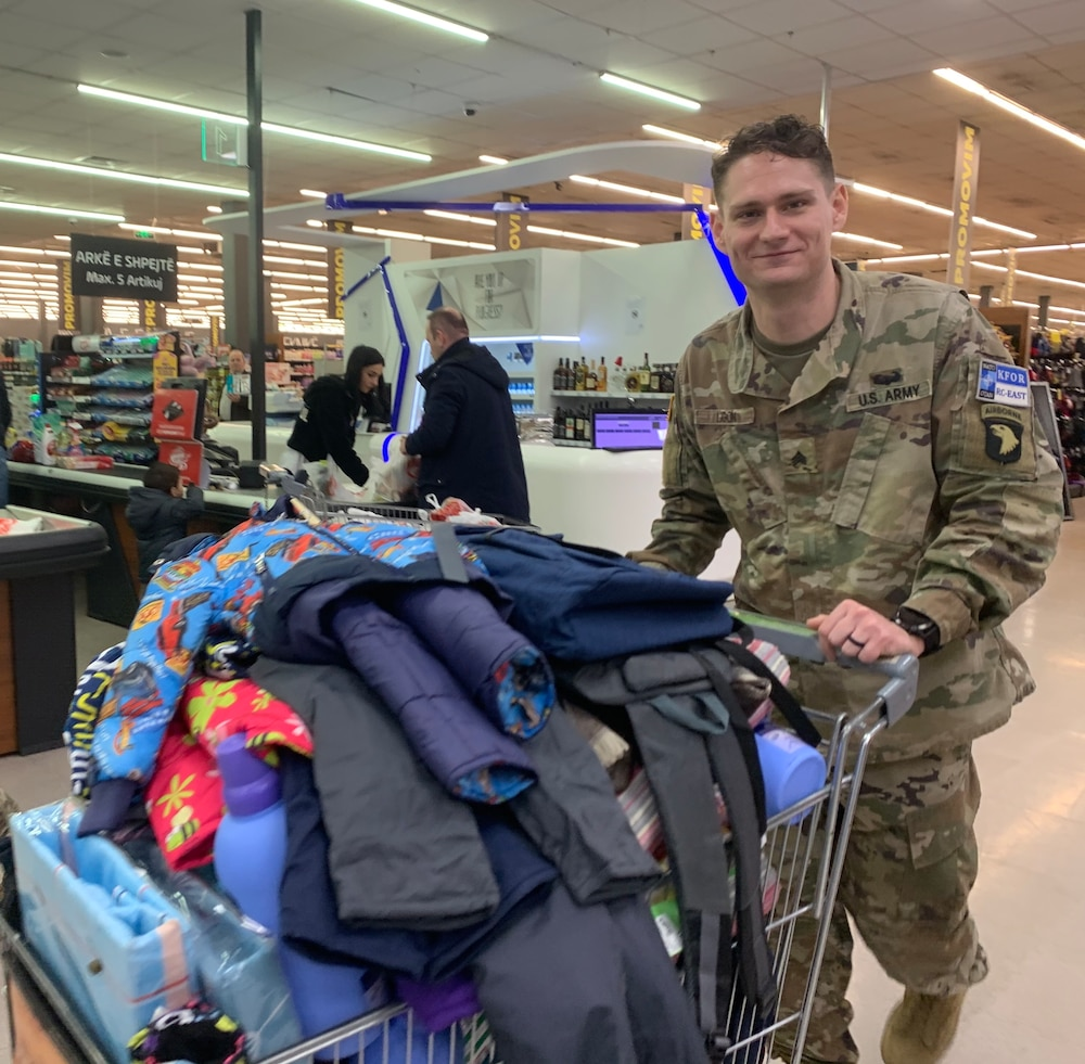 A selfless Soldier with a heart of gold