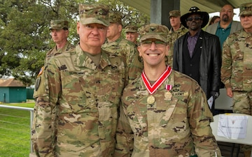176th Engineer Brigade Change of Commad ceremony
