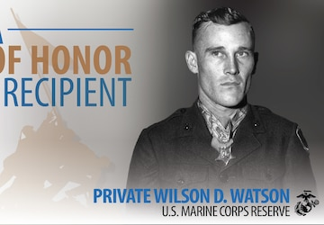 "We are Iwo: Private Wilson ""Doug"" Watson"