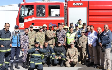 Joint Training Center-Jordan partners with Civil Defence Department for emergency response training