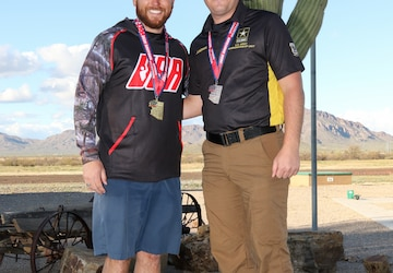 USAMU Soldier and veteran make up Team USA for Men's Skeet Event
