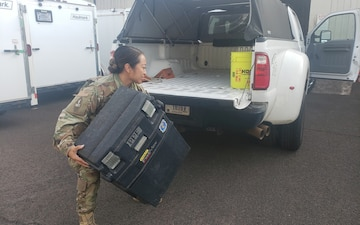 Activated Hawaii National Guardsmen Ready for COVID-19 Response