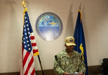 Cmdr. Chris Goodson Begins Command at NCTS HR