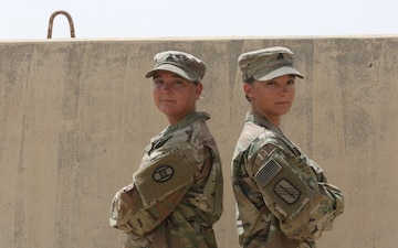 North Carolina National Guard Twin Sister Soldiers Double Down on Deployment