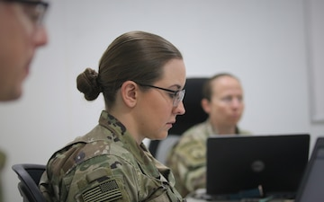 Area Support Group-Jordan hosts emergency Basic Leader Course for Soldiers during COVID-19