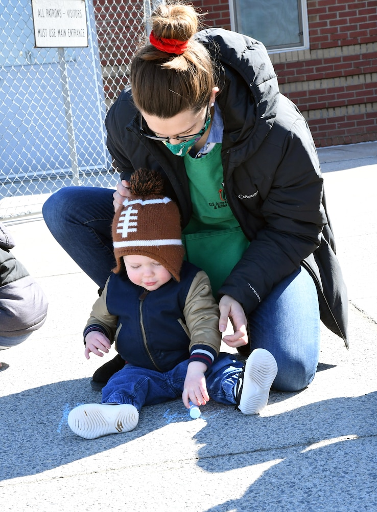 Fort Drum children get creative for Month of the Military Child