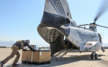 COVID-19 Supplies shipped to Afghanistan