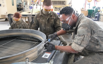 1st Ar. Div. Sust. Bde. Maintain Readiness During COVID-19