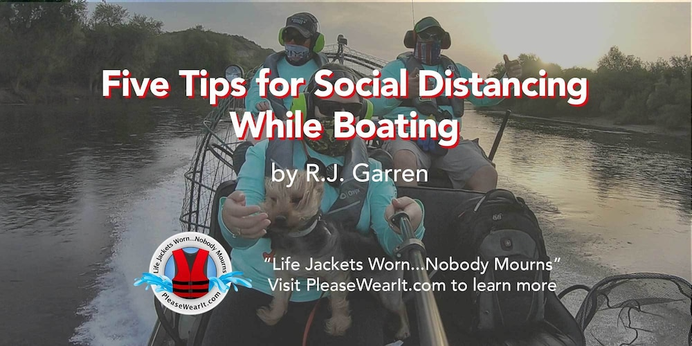 Five Tips for Social Distancing While Boating Blog Header