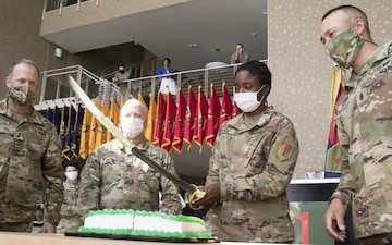 Army's oldest continuous division celebrates 103rd birthday
