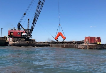 Multiple river dredging contracts awarded