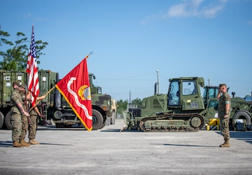 U.S. Marine task force holds opening ceremony for crisis response deployment