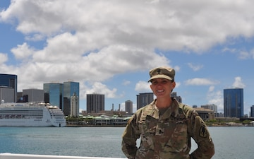 Partnership in the Pacific – Army Reserve Nurse Provides Medical Care for Coast Guard Unit