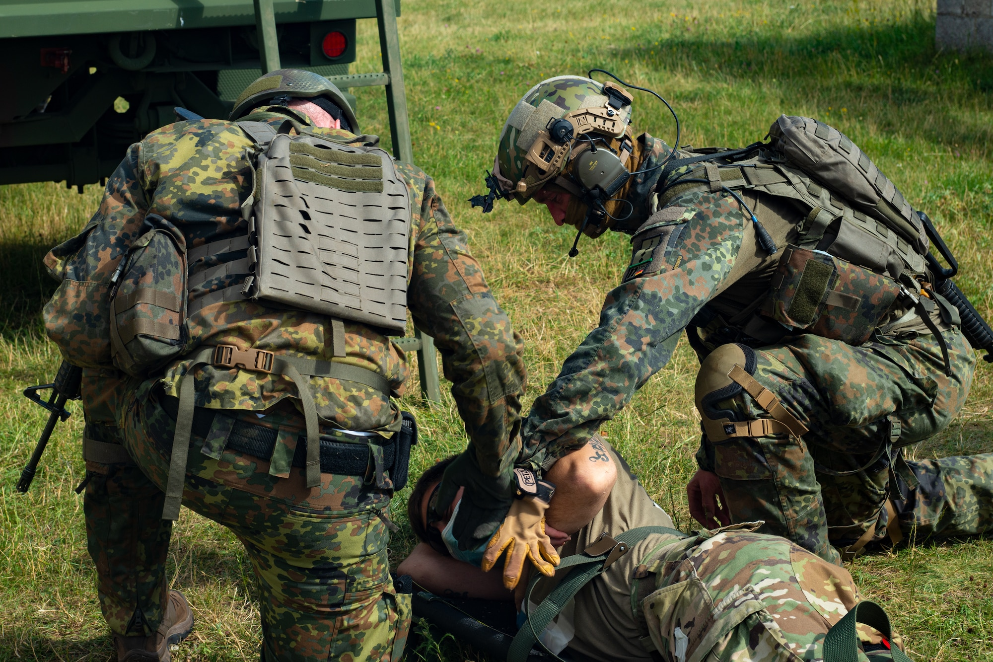International Combat Life Saver Course • Germany, July 2, 2020
