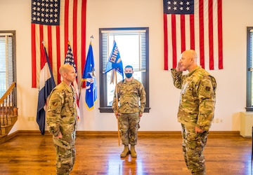 Guttmann assumes command of 231st CEF