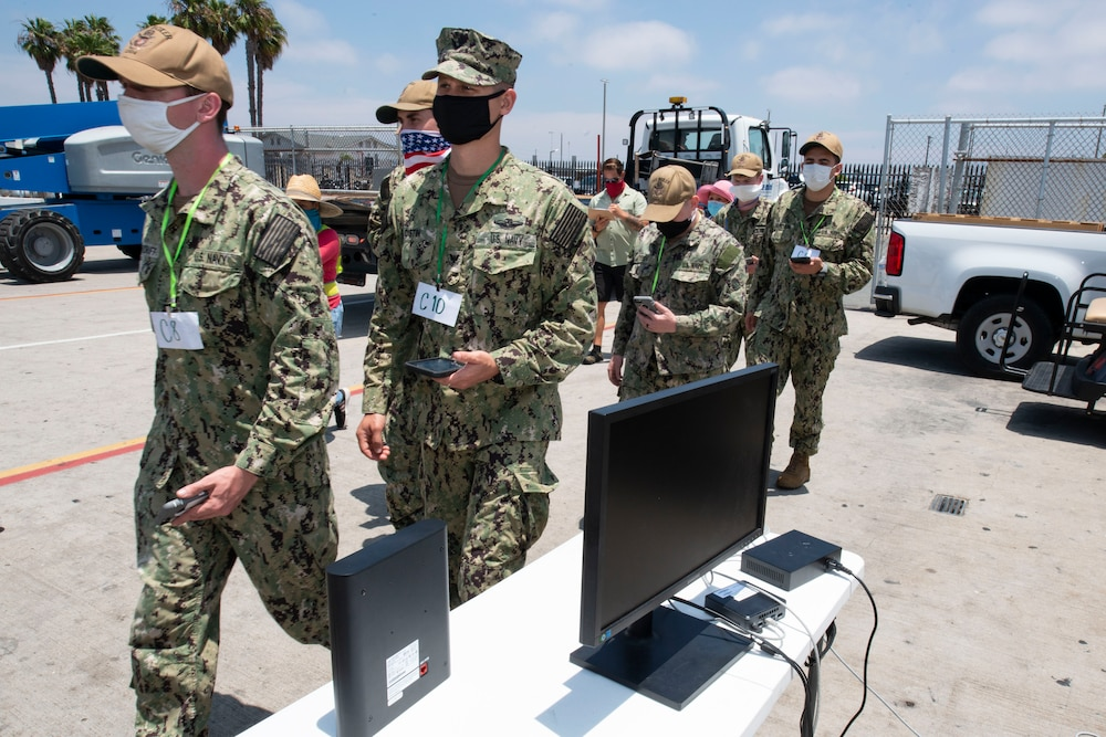 NAVWAR Trident Warrior Team Assesses New Tracking Technology for COVID-19 Mitigation