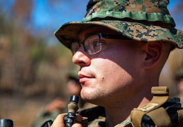 Engineer platoon conducts M203 range