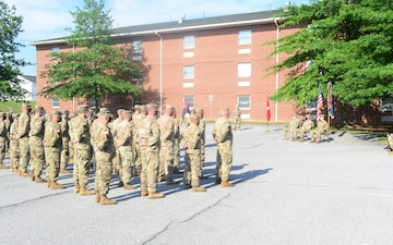 56th Stryker Brigade Combat team, Headquarters Company holds change of command
