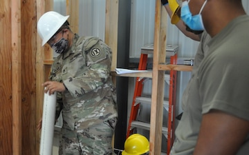 4960th MFTB conducts Engineer Course Amid Pandemic and Hurricane