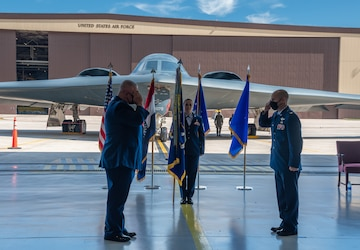 Col. Matthew Calhoun assumes command of Missouri National Guard's 131st Bomb Wing