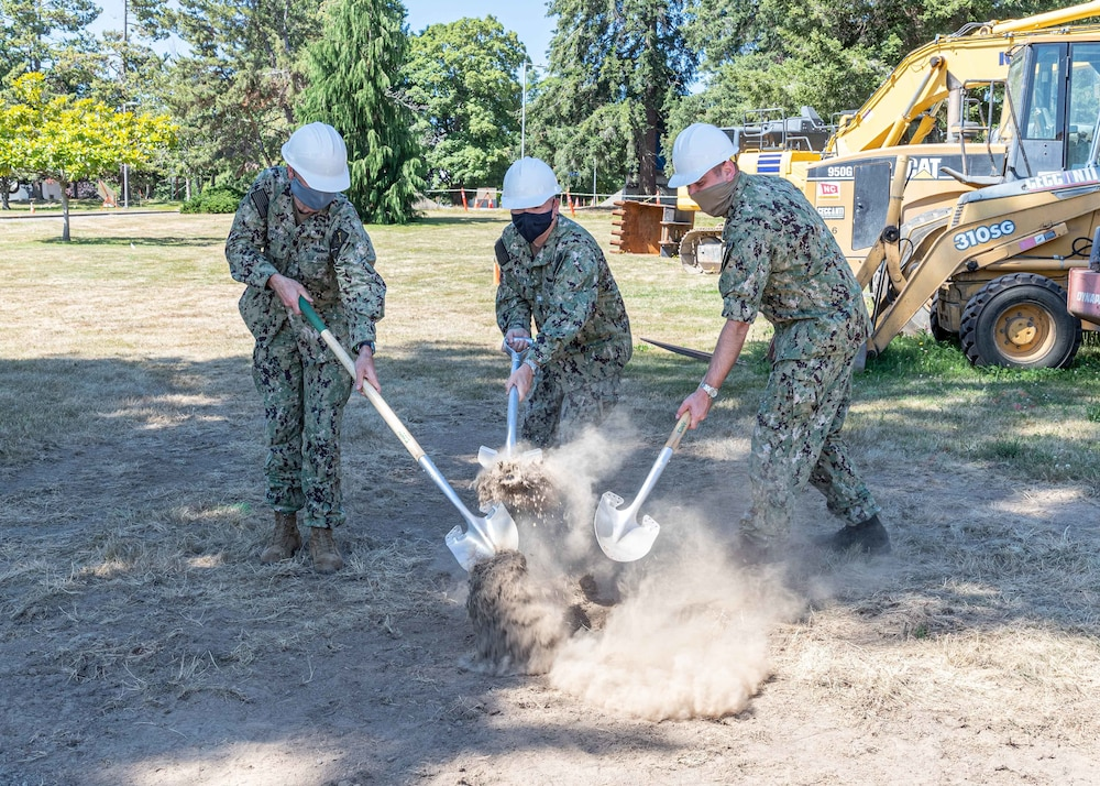 NUWC Division, Keyport Breaks Ground on New Building, New Era in Unmanned Vehicle Innovation